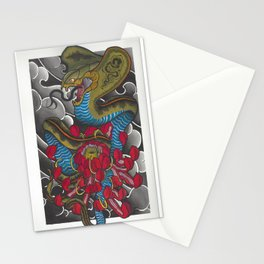 Cobra and Kiku pt. 2 Stationery Cards