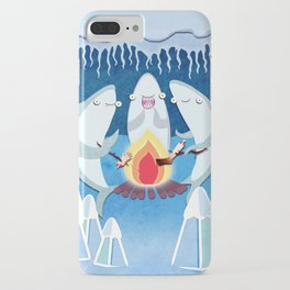 A Shiver of Sharks iPhone Case