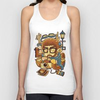instagram Tank Tops featuring Instagram by anggatantama