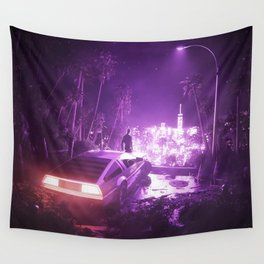 TIMEOUT | by RETRIC DREAMS Wall Tapestry