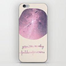 stars iPhone Skin