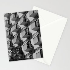 Serial balconies Stationery Cards