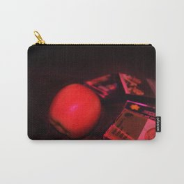 Apple and Cassettes Carry-All Pouch
