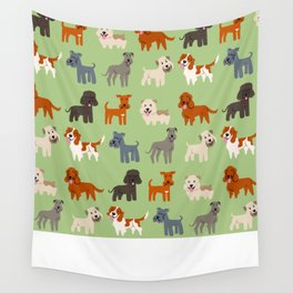 IRISH DOGS Wall Tapestry