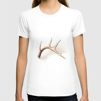 antler T-shirts featuring Antler by Kendra Aldrich