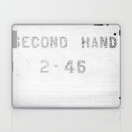 SECOND HAND Laptop & iPad Skin