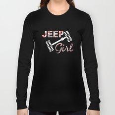 Jeep Girl Camo Long Sleeve T-shirt