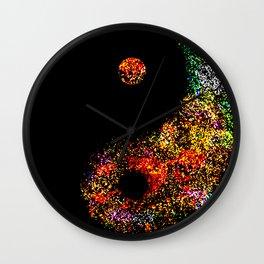 Yin Yang Multi jGibney The MUSEUM Society6 Gifts Wall Clock