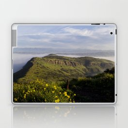 Over Look of Foggy Mountains Laptop & iPad Skin