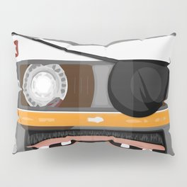 The cassette tape pirate Pillow Sham