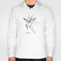 totes Hoodies featuring Totes ma Goats by Lauryn M