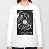 vintage camera Long Sleeve T-shirts featuring Vintage Camera by Mark Alder