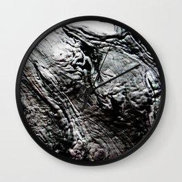 Black Lava Wall Clock