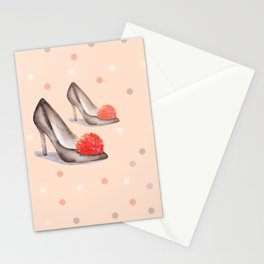 Cute Fashion Collection 2018 by #MahsaWatercolor .N8 Stationery Cards
