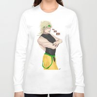 jjba Long Sleeve T-shirts featuring USELESS USELESS USELESS! by dggeoffing