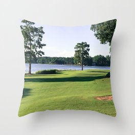 11 Fairway Throw Pillow