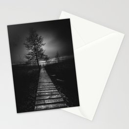 On the wrong side of the lake 9 Stationery Cards