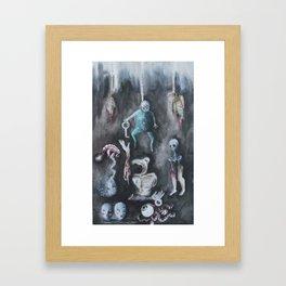 Carnicería Framed Art Print