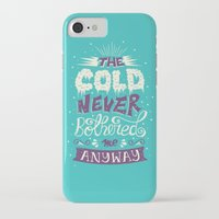 lyrics iPhone & iPod Cases featuring Lyrics Love by Pink Berry Patterns