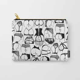 Lingerie Butts Carry-All Pouch