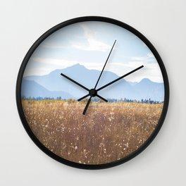 September in South Lake Tahoe Wall Clock