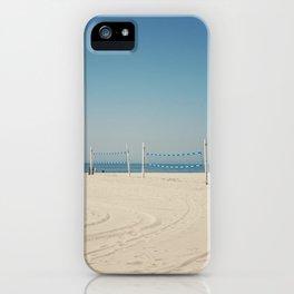 Hermosa Beach Volleyball iPhone Case