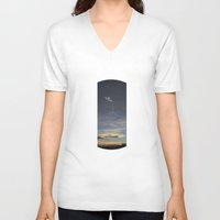 ufo V-neck T-shirts featuring UFO by Creative Soul