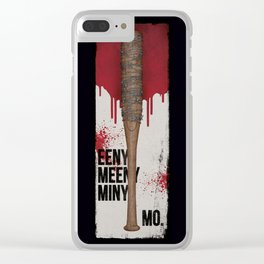 Eeny Meeny Miny Mo - Ode to Lucille Clear iPhone Case