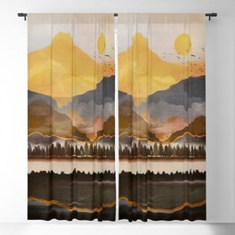 Pure Wilderness at Dusk Blackout Curtain