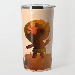 Deku Link   Majora's Mask Travel Mug