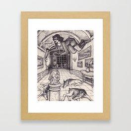 Burglar Framed Art Print