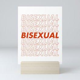 Bisexual Mini Art Print
