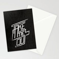 Take me Out Stationery Cards