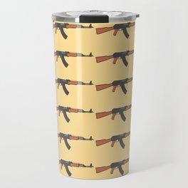 ak47 pattern logo Travel Mug
