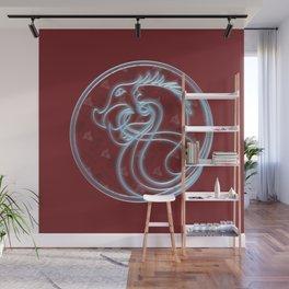 Viking Shield Illuminate Wall Mural