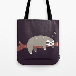 Sloth card - good night Tote Bag