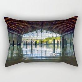 Main St Station Waiting Area Rectangular Pillow