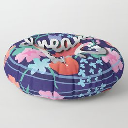 Dream Big Floor Pillows   Society6