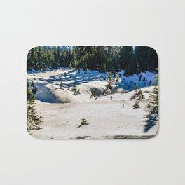 Snow at Mt Rainer Bath Mat