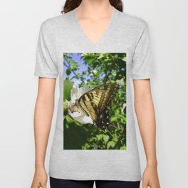Seasonal Butterfly Unisex V-Neck