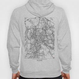 Rome Map White Hoody