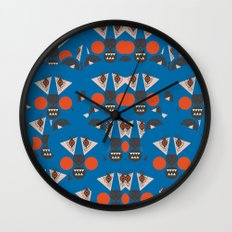 Tribal Terror Wall Clock