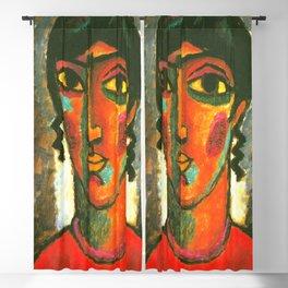 "Alexej von Jawlensky ""Spanish Woman"" 1913 Blackout Curtain"