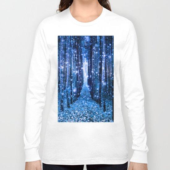 Magical Forest Bluest Blues Long Sleeve T-shirt