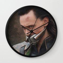 Captured King Wall Clock