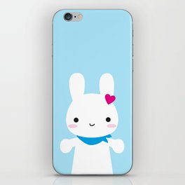 Super Cute Kawaii Bunny iPhone Skin