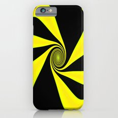 Abstract. Yellow+Black. Slim Case iPhone 6s