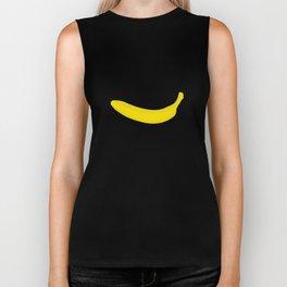 Banana print Biker Tank