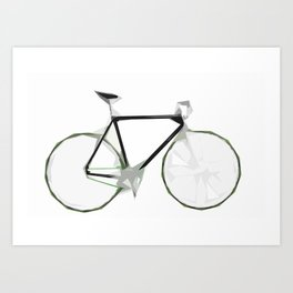 Deconstructed Fixie Art Print