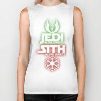 jedi Biker Tanks featuring Jedi by Liquidsugar